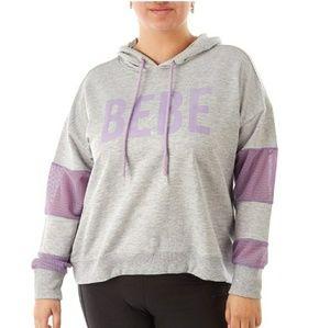 Women's Bebe hoodie size 1X